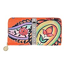 Keshi Leather Fashion Women's Purse Organizer Long Wallet Clutch Card Holder Money Clip