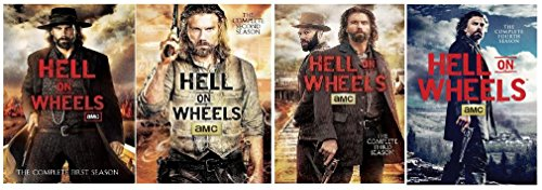 Hell on Wheels Complete Seasons 1-4 by AMC