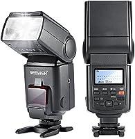 Neewer E-TTL - Flash para cámaras réflex Canon EOS 650D, 600D ...