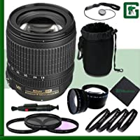 Nikon 18-105mm VR Nikkor Lens Greens Camera Package 5