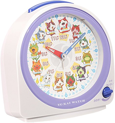 (SEIKO CLOCK Youkai watch quartz alarm clock CQ145W Japan)