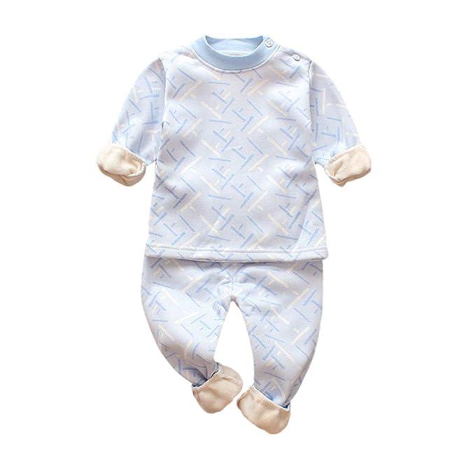 Ropa Bebé, 🍄Btruely 2pcs Ropa Conjuntos Tops Bebés Infantil niños pequeños niña Ropa Camiseta Impresa Manga Larga + Conjunto de Trajes pantalón Larga de ...