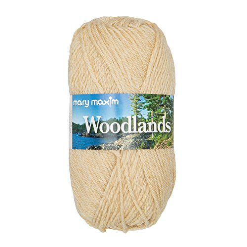 "Mary Maxim Woodlands Yarn ""Flax"" 