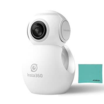 insta360 Air Compact Mini panorámica 360 grados 3 K cámara HD Doble Gran Angular Fish Eye