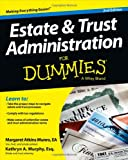 img - for Estate and Trust Administration For Dummies book / textbook / text book