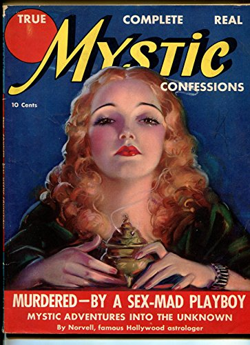 TRUE MYSTIC CONFESSIONS #1-1937-1ST ISSUE-DOPE - Orgie First