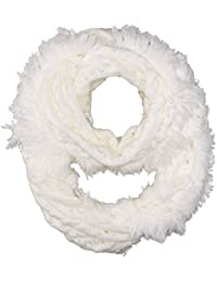 Women's Frayed Edge Knit Infinity