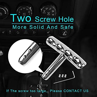 Cartaoo T-handle Gear Shift Knob Handle for Jeep Wrangler Jeep Dodge Charger Challenger Compass: Automotive
