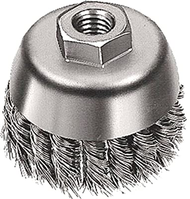 Mercer Abrasives 189020 Knot Cup Brush For Right Angle Grinders