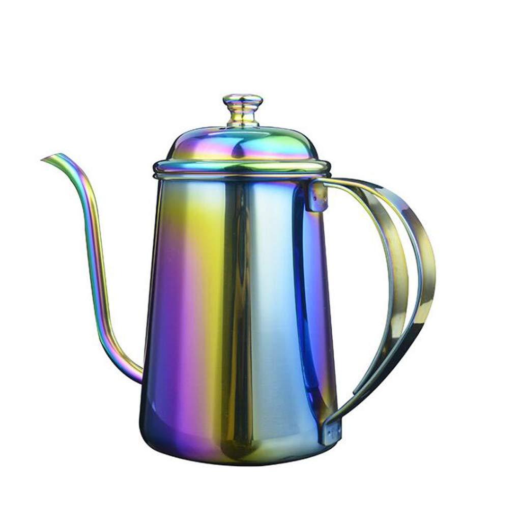 Acquisto JXXDDQ Bollitore da 650 ml con Bocca Lunga e pentola fine con gocciolatoio per caffettiera Prezzi offerta