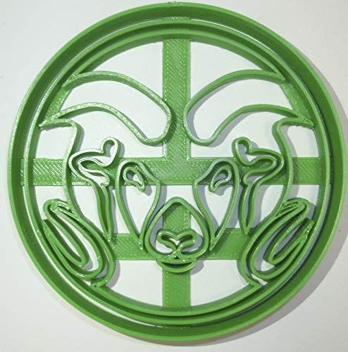 CSU RAMS COLORADO STATE NCAA FOOTBALL D1 SPORTS TEAM LOGO SPECIAL OCCASION COOKIE CUTTER BAKING TOOL 3D PRINTED MADE IN USA PR933