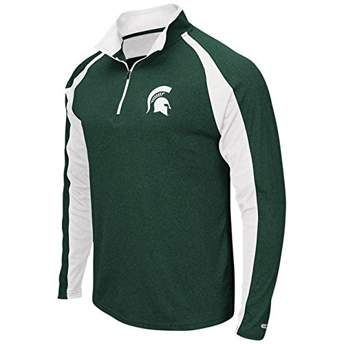 NEW Gear for Sports Michigan State University Spartans 1/4 Zip Pullover - (Michigan State Golf Gear)