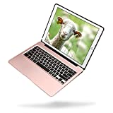 Apple 2017 iPad Pro 12.9(2nd Gen) Case with Keyboard Compatible with 2015 iPad Pro 12.9 (1st Gen),Kiwetaso 7 Colors Backlits Wireless Smart Keyboard Cover and Case(Rose Gold)