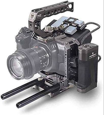 Gray Tilta 15mm LWS Baseplate for BMPCC4K