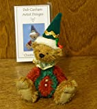 Deb Canham Artist Designs, CHRISTMAS JESTER, Limited Edition Mohair from Christmas Jester Collection