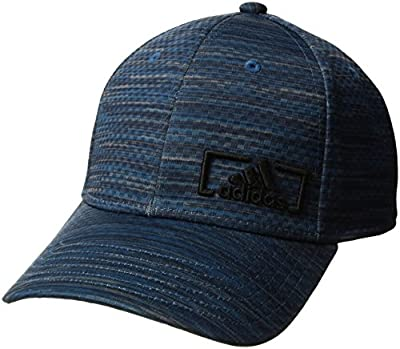 adidas mens Amplifier Stretch Fit Cap from Agron Hats & Accessories