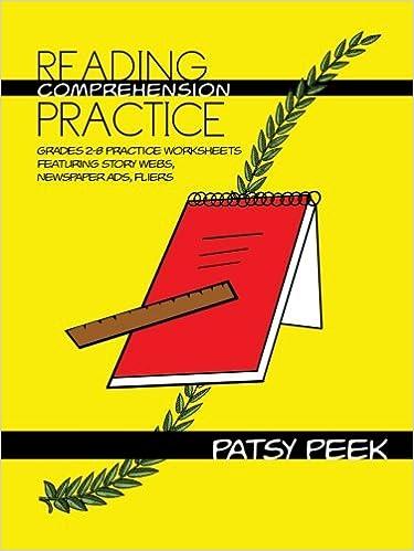 Reading Comprehension Practice: Grades 2-8 Practice Worksheets ...
