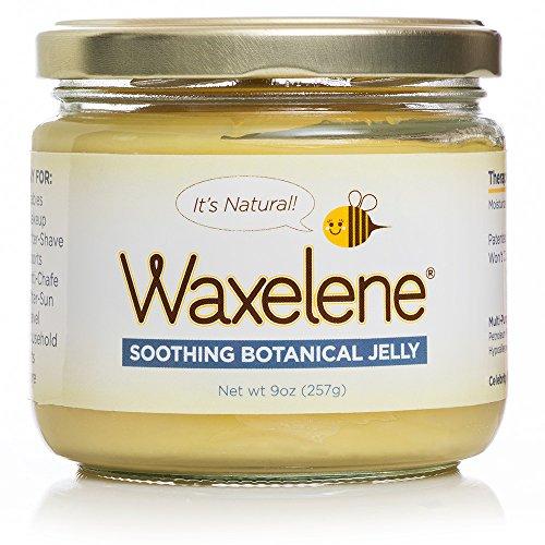 Waxelene Soothing Botanical Jelly – 9 ounce Jar – Organic Original by Waxelene