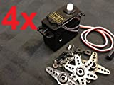 4 Pieces Generic S3003 Standard Servo for Rc - Best Reviews Guide
