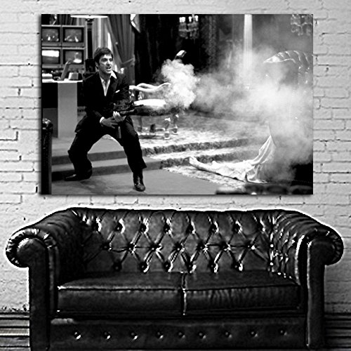 Poster Mural Movie Scarface Mob Gangster 40x58 in (100x145 cm) on 8mil Paper - Mail Internation