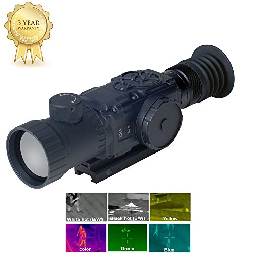 Thermal Riflescope, video output, 35mm lens with 384x288 Ulis sensor, with MIL-STD 1913 Picatinny (Std Rail)