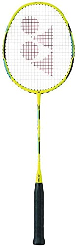 YONEX Duora 55 Flash Yellow Badminton Racket Strung
