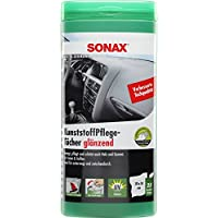 Sonax 412100 KunststoffPflegeTücher Box (enthält 25 Tücher)