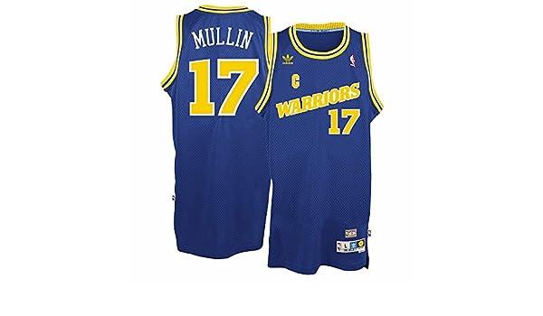 Amazon.com: Chris Mullin Golden State Warriors #17 Blue Adidas Youth Hardwood Classic Swingman Jersey (Small 8): Clothing