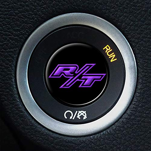MBDG R/T Ignition Push Start Button Overlay for Dodge Challenger and Charger A41