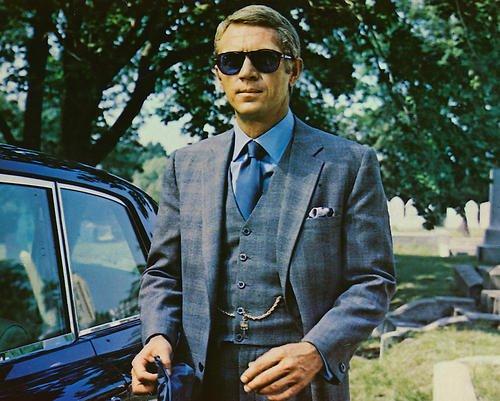 The Thomas Crown Affair Steve Mcqueen Sunglasses 11x14 HD Aluminum Wall - Thomas Affair Sunglasses Crown