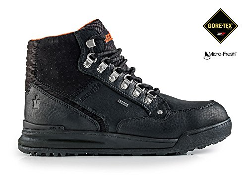 PROTEQGrind GTX Steifel S3 SRA HRO - Zapatos de Seguridad Unisex adulto Negro - negro