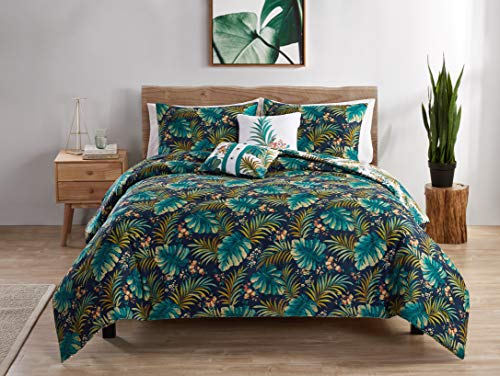 VCNY Home Key West Quilt Sets, King, Multi