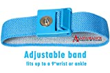Assurance Designed Blue Grounding Wrist Strap 2