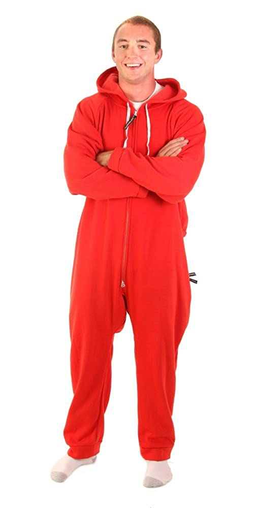 Forever Lazy Unisex Heavyweight Adult Onesie One-Piece Pajama Jumpsuit  unilazy mens sweatshirt 38929b6ca