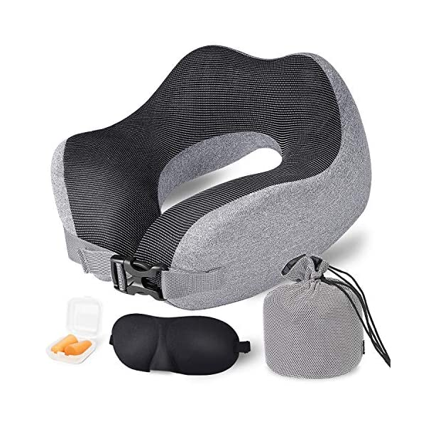 Travel Pillow Memory Foam Neck Support US 2020