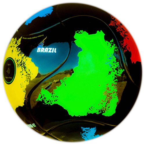 Bend-It Brazil Training Soccer Ball 1 Orange Replica Basketball Jersey