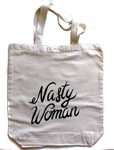 Nasty Woman Large Tote Bag (Nasty Graffiti)