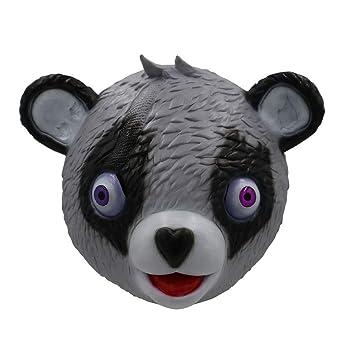 Miminuo Novedad Juguete de la Novedad de Halloween Disfraz de Juego de Fiesta Látex Animal Máscara