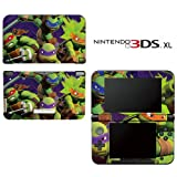 Teenage Mutant Ninja Turtles TMNT Decorative Video Game Decal Cover Skin Protector for Nintendo 3DS XL