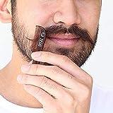 Zeus Mustache Styling wax + Saw-Cut Mustache Comb