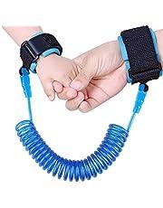 الطفل الطفل لمكافحة خسر ربط المعصم السلامة تسخير حزام حبل المقود المشي حزام اليد الفرقة معصمه للأطفال ، أطفال (1.5 متر)