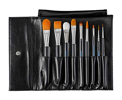 Mehron Makeup Paradise AQ Brush Set -