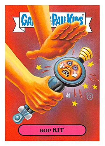 2019 Topps Garbage Pail Kids We Hate the '90s Toys Sticker #12a BOP KIT Sticker Trading Card
