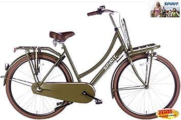 Bicicleta holandesa para mujer (3 marchas Spirit Cargo 28 pulgadas ...