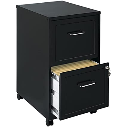 Charmant File Cabinet 2 Drawer Wheels Rolling Storage Home Office With Lock And Key  Furniture Mobile Filing