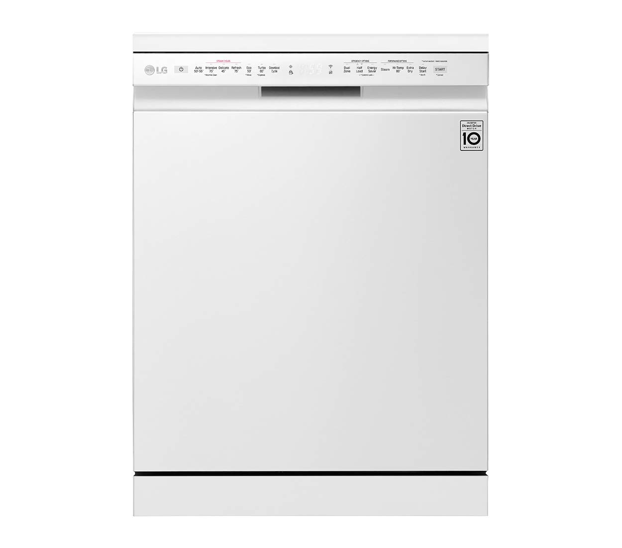 LG 14 Place Settings Dishwasher (DFB424FW, White color)