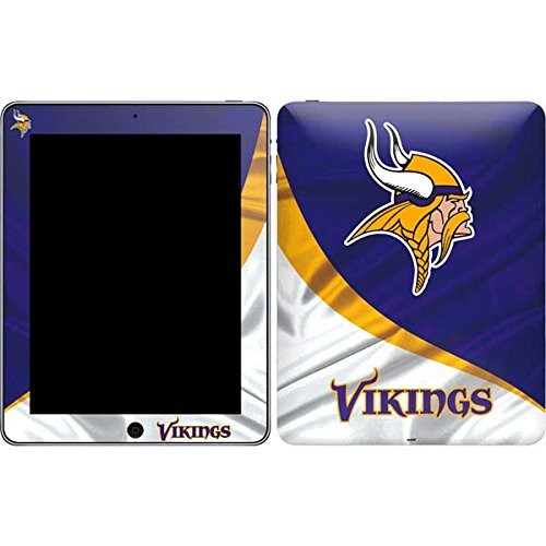 Skinit Protective Skin (Fits Latest Apple iPad); NFL Minnesota Vikings Logo by Skinit