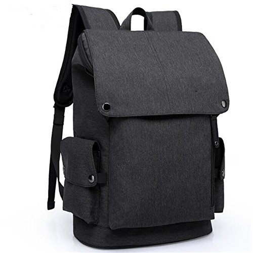 School Bags For Boys,Waterproof Laptop Backpack For Men Both Business Backpacks Good For College Travel Shoulder Tech Bag,Black