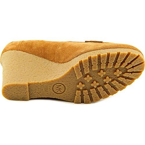 40f481795826 Michael Michael Kors Rory Loafer Women US 7 Brown Wedge Heel delicate