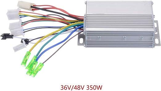 Zerama Módulo de Control de Velocidad de 36V-48V Bicicleta ...